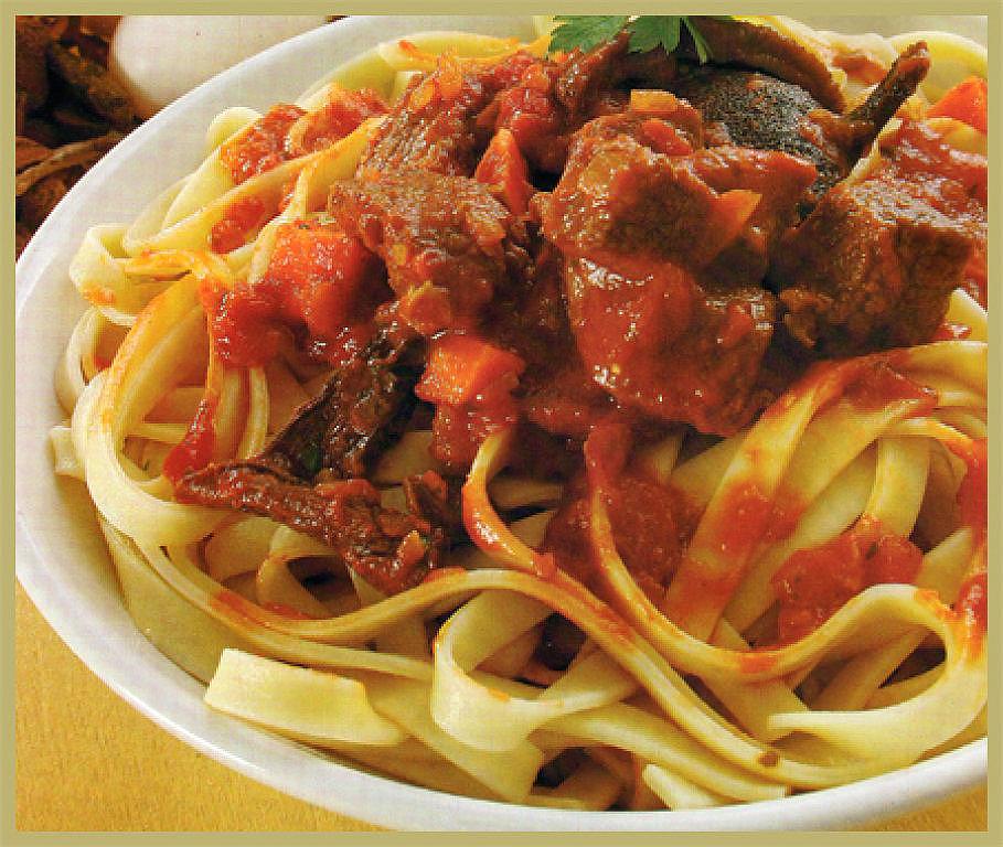 Estofado con salsa de tomates salsas para pastas - Como se hace la salsa pesto para pasta ...
