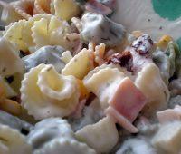 Salsa de yogurt para pastas