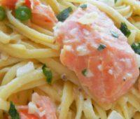 Salsa de salmón para pastas