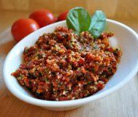 Salsa para ravioles – Pesto rosso
